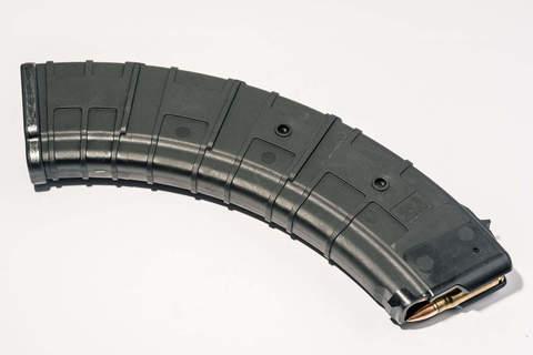 Магазин Pufgun для АКМ (7.62x39) ВПО-136 ВПО-209 на 40 Gen2, черный