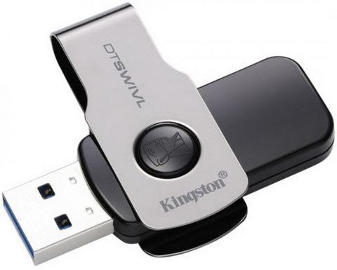 Накопитель Kingston DataTraveler Swivl 128GB USB 3.0 Metal Color (DTSWIVL/128GB)