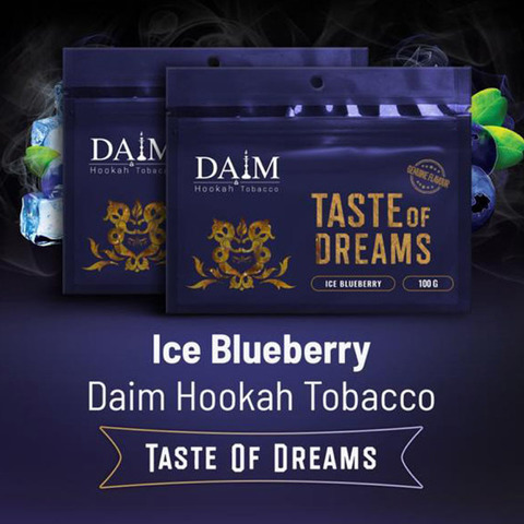 Табак Daim Ice Blueberry 100 г