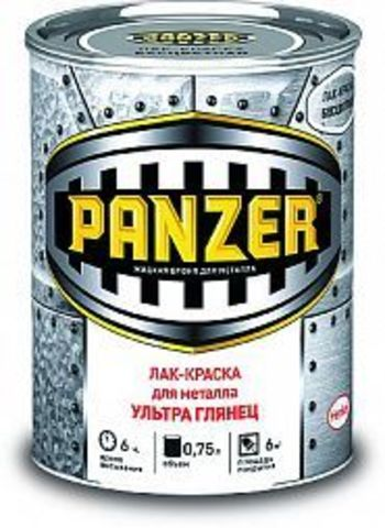Panzer/Панцер лак-краска для металла гладкая,глянцевая