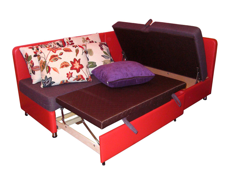 Кухонный угол Карелия КУ 2д1я, спальное место 130х193 см + ящик для белья