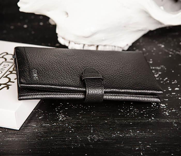 WL335-1 Мужское портмоне клатч из натуральной кожи «Hanz» фото 03