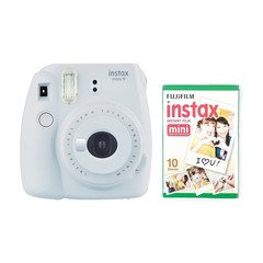Fotoaparat Fujifilm instax Mini 9 Camera with 10 Shots - Smoky White