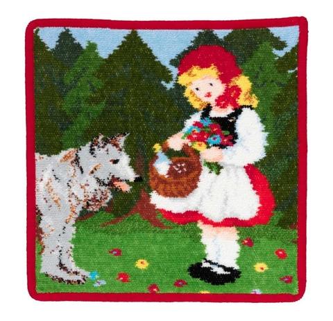 Элитная наволочка декоративная шенилловая Marchen Little Red Riding Hood от Feiler
