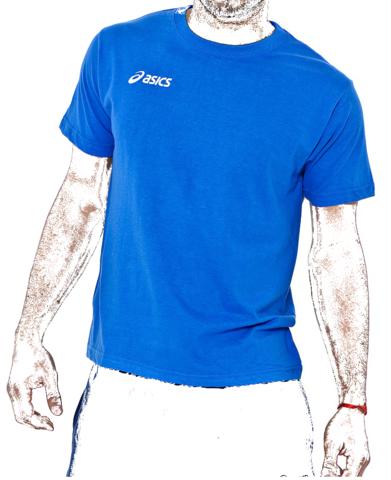 Футболка Asics Promozionali Blue