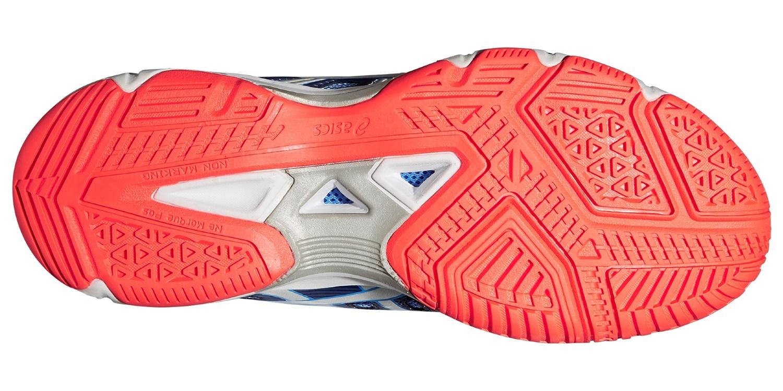 Женские волейбольные кроссовки Асикс Gel-Beyond 4 blue (B454N 4793) синие