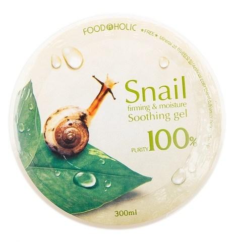 FoodaHolic Гель для лица и тела с муцином улитки 300мл
