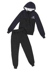 BL23-4 спортивный костюм детский, сини-черный