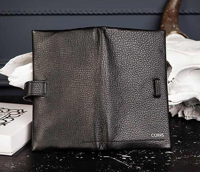 WL335-1 Мужское портмоне клатч из натуральной кожи «Hanz» фото 04