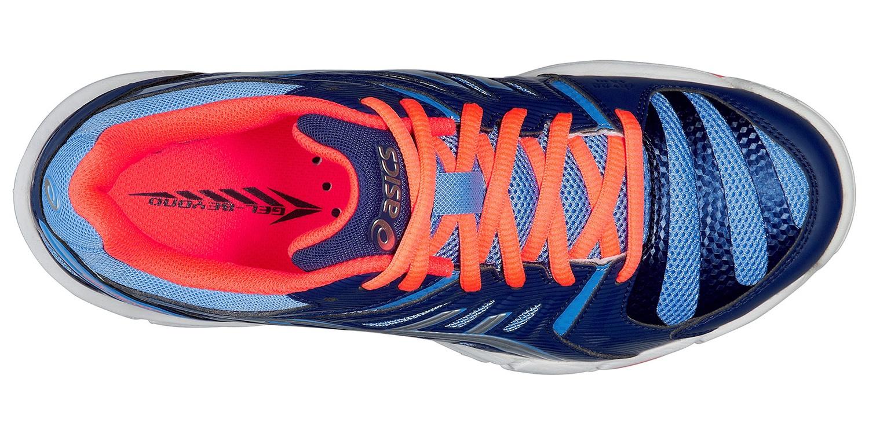 Женские кроссовки для волейбола Asics Gel-Beyond 4 blue (B454N 4793) синие фото