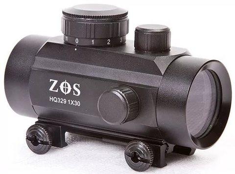 Прицел коллиматорный ZOS 1x30RD закрытый  HQ329