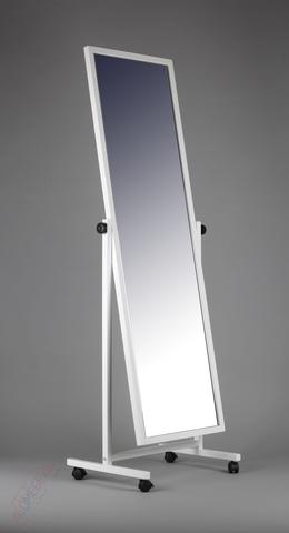 ТД-150-48 Зеркало двухстороннее напольное с колесами (белое)