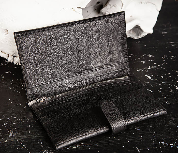 WL335-1 Мужское портмоне клатч из натуральной кожи «Hanz» фото 05