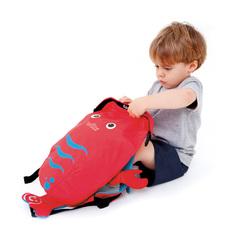 детский рюкзак Paddlepak красный Лобстер