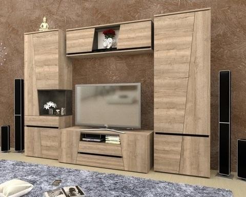 Гостиная модульная СТРЕЗА-3