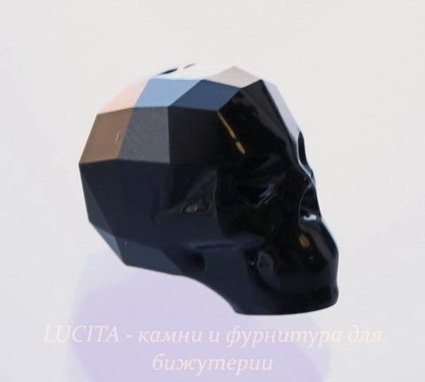 """5750 Бусина """"Череп"""" Сваровски Jet 19 мм"""