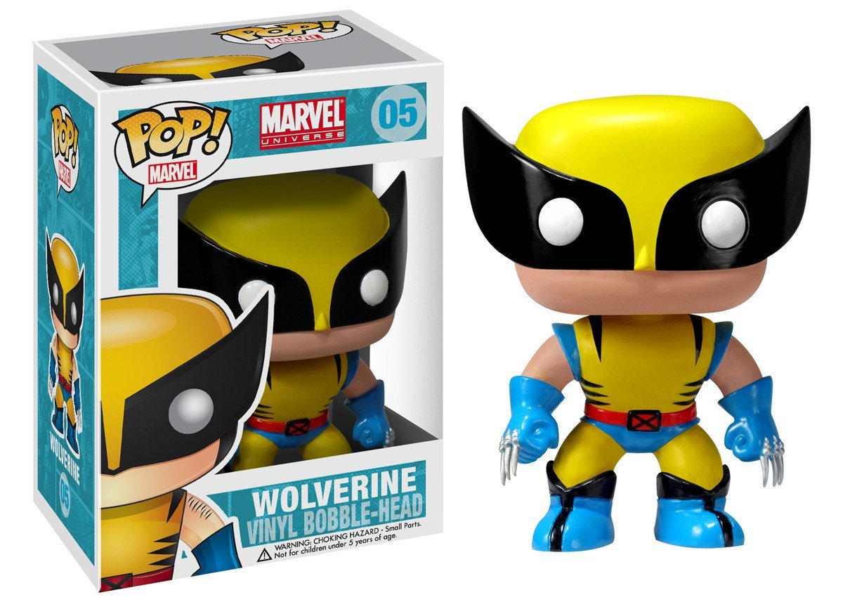 Фигурка Funko POP! Bobble: Marvel: Wolverine 2277