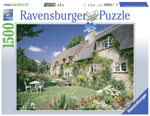 Puzzle -Cottage on Bredon Hill,Wor 1500p