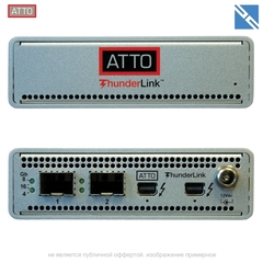 Контроллер ATTO Technology ThunderLink FC 2162 Thunderbolt 2 16Gb Fibre Channel Desklink Device