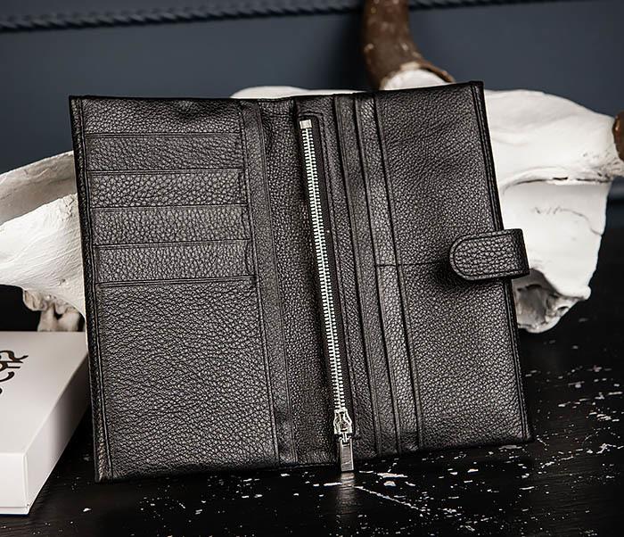 WL335-1 Мужское портмоне клатч из натуральной кожи «Hanz» фото 06