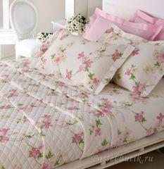 Постельное белье 2 спальное евро макси Mirabello Vine Flowers розовое