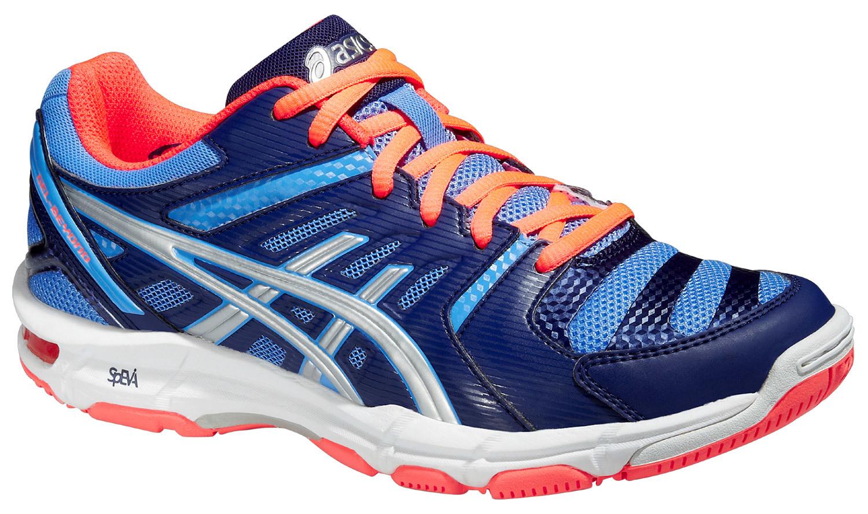 Женские волейбольные кроссовки Asics Gel-Beyond 4 blue (B454N 4793) синие фото