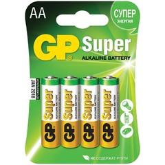 """Батарейка """"GP"""" Super АА 4 шт"""