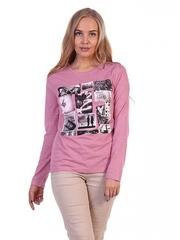 1307-013 Лонгслив женский, розовый