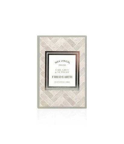 Ароматическая карточка Чай с бергамотом и ветивером, Wax Lyrical