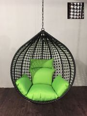 Подвесное кресло Country Кантри Black & White без стойки