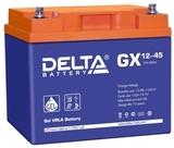 Аккумулятор DELTA GX 12-45 ( 12V 45Ah / 12В 45Ач ) - фотография