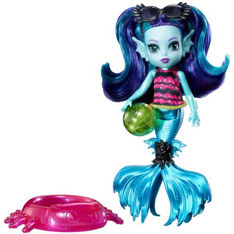 Кукла Монстер Хай Эбби Блю (Ebbie Blue) - Семейка Монстров, Mattel