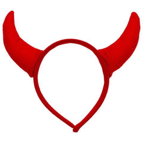 Ободок Красные рога