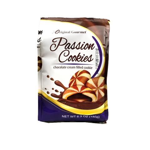 OG PASSION COOKIE Печенье мозаика с шоколадным кремом 1кор*1бл*12шт 180гр.