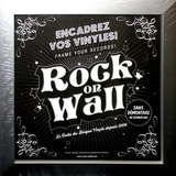 Настенная Рамка Для Виниловых Пластинок, Серая (Rock On Wall)