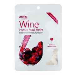 La Miso Wine Essence Mask Sheet - Маска с экстрактом красного вина