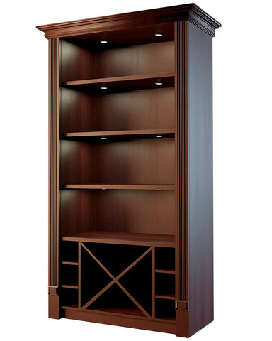 фото 1 Шкаф для алкоголя с комбинированными секциями Евромаркет LD 004 на profcook.ru
