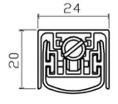 298SF GU298-50dB Порог автоматический SIPAM