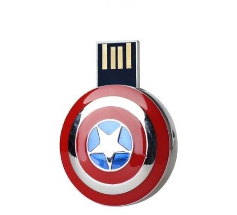 USB-флешка Капитан Америка супер герой комиксов