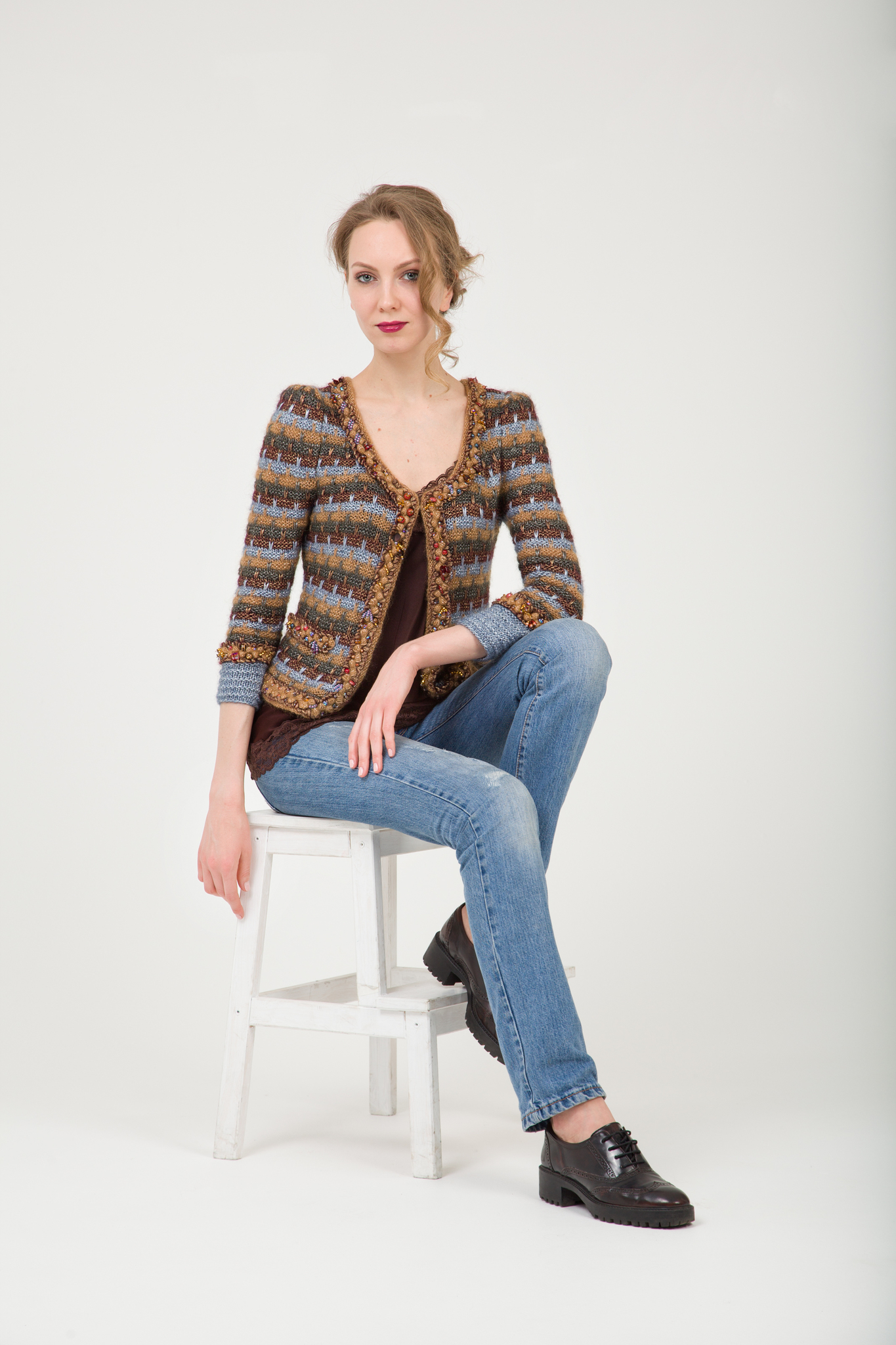 Jacket GABRIELLE Fashionbox by Rodina Yarns