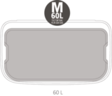 Мусорный бак Touch Bin Bo 60 л, артикул 223044, производитель - Brabantia, фото 12