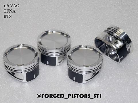 Поршни СТИ VolksWagen 1,6 CFNA, BTS кольца 1,2/1,2/2,0