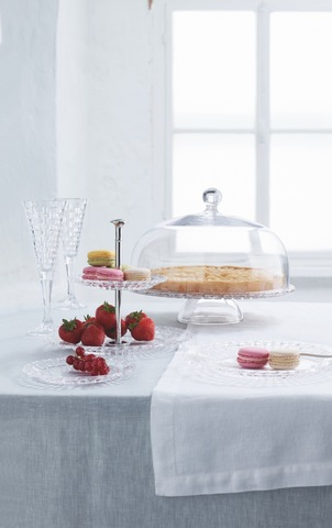 Bossa Nova Two Tier Tray Small