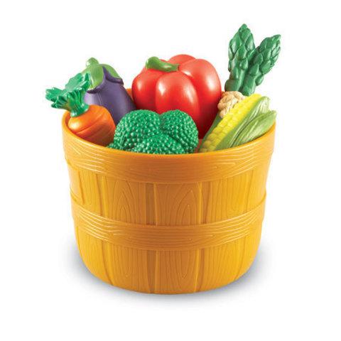 Игровой набор продуктов Овощи в ведерке Learning Resources