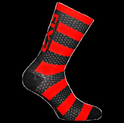 Sixs, Теплые термо-носки с мериносовой шерстью LUXURY MERINOS,красный