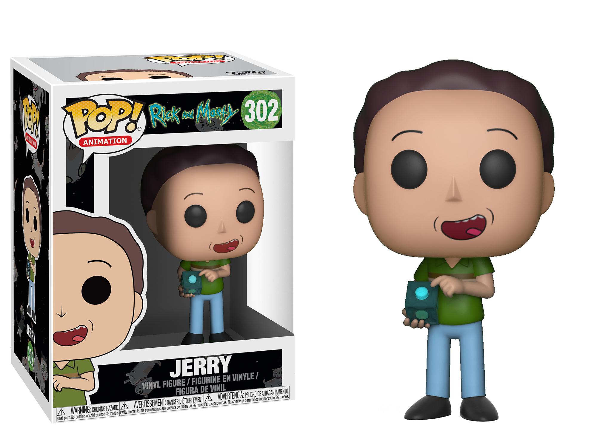 Фигурка Funko POP! Vinyl: Rick & Morty S3: Jerry 22962