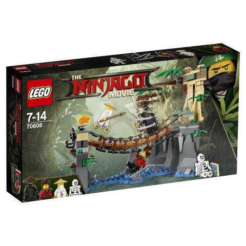 LEGO Ninjago Movie: Битва Гармадона и Мастера Ву 70608 — Master Falls — Лего Ниндзяго Муви Фильм