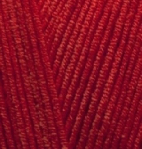 Пряжа Alize Cotton Gold красный 56