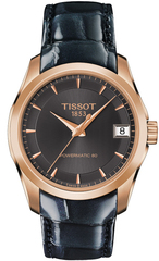 Женские часы Tissot T035.207.36.061.00 Couturier Powermatic 80 Lady