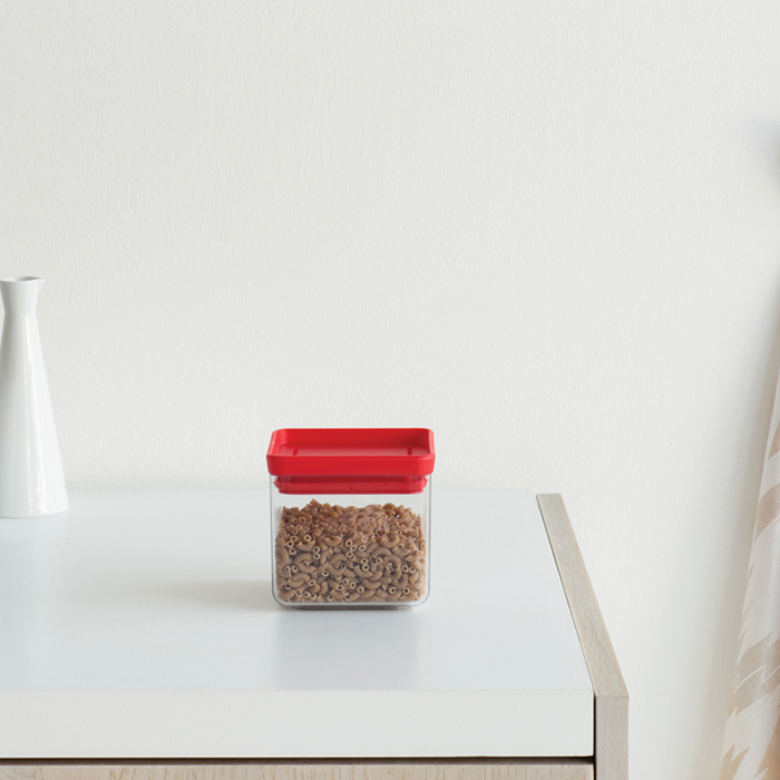 Прямоугольный контейнер (0,7 л), Красный, арт. 290008 - фото 1